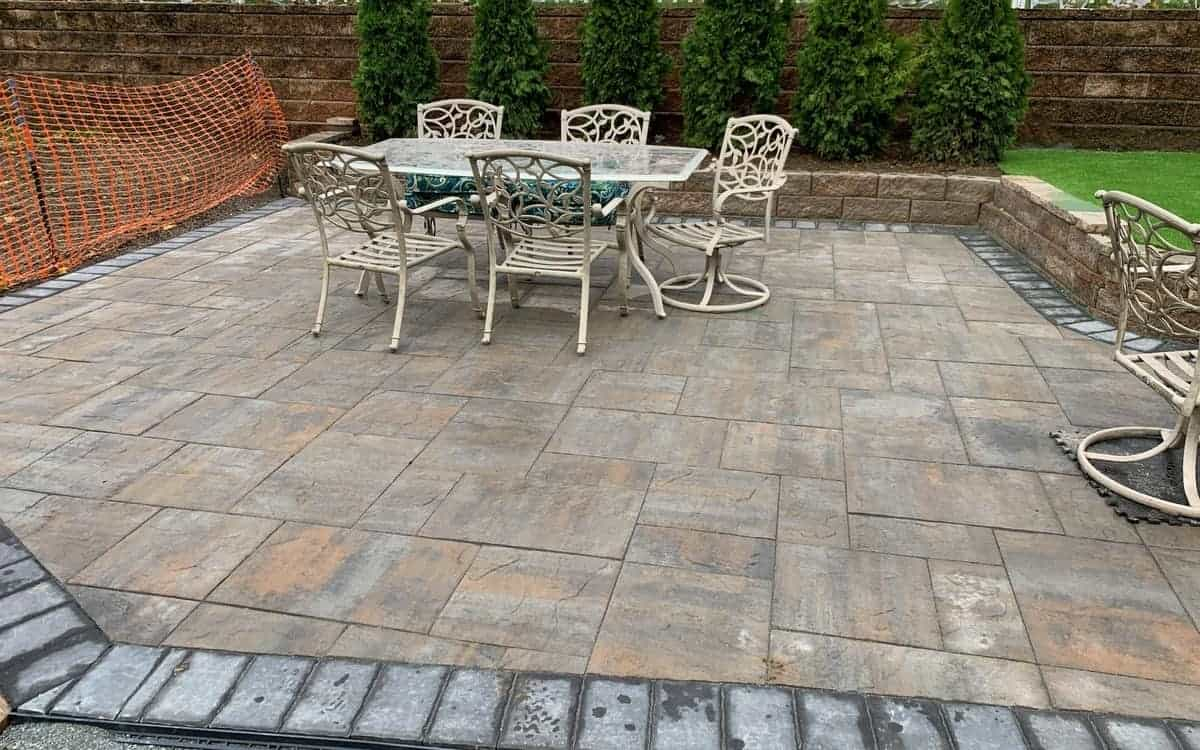 Backyard Patio Installer